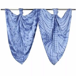 J & Alex Hand dyed cotton muslin swaddle blanket